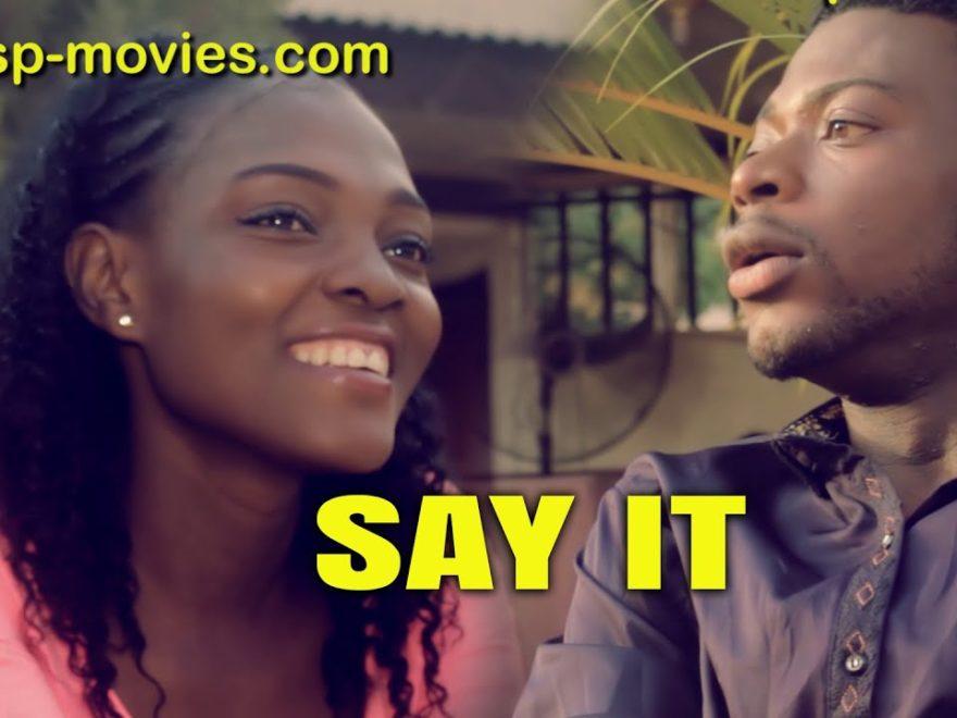 Say it - So movie