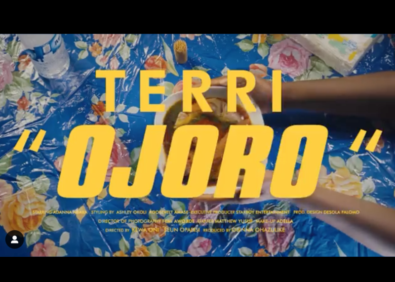"[Video] Terri – ""Ojoro"""