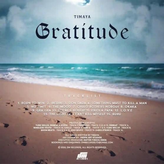 Timaya – Gratitude Album Download