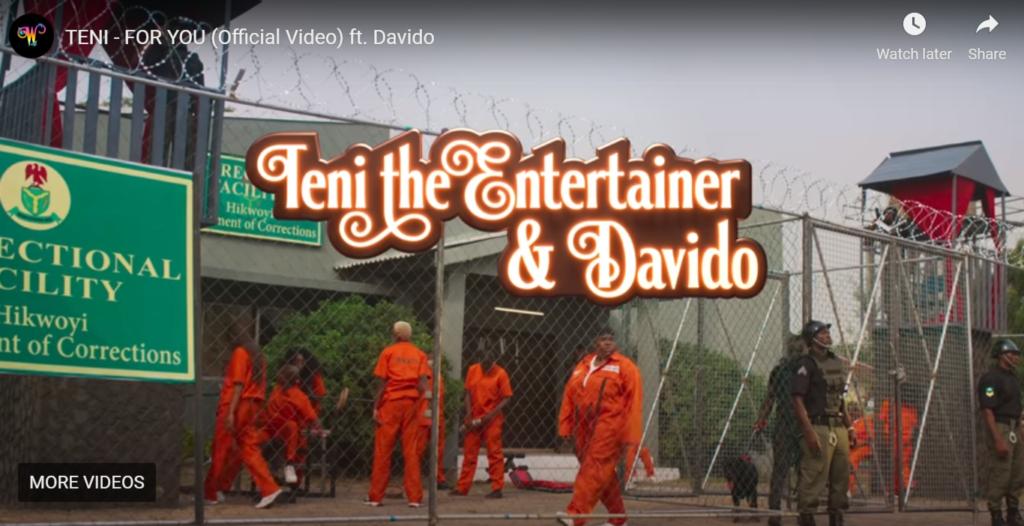 MP4 Download Teni Ft. Davido – For You Video + Lyrics