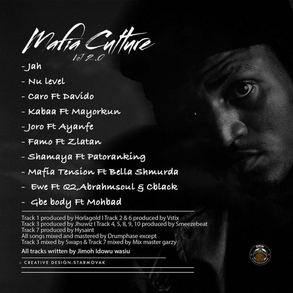 """Idowest """"Mafia Culture Vol. 2"""" Ep"""