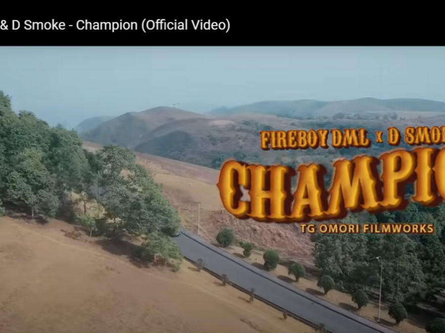 Mp4 Download Fireboy DML 'Champion' Ft. D Smoke