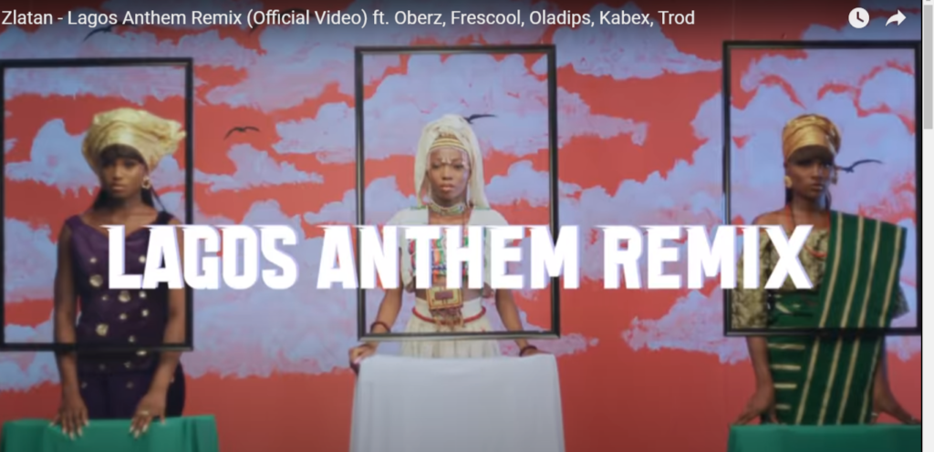 Download Zlata Lagos Anthem (Official Video) + Lyrics