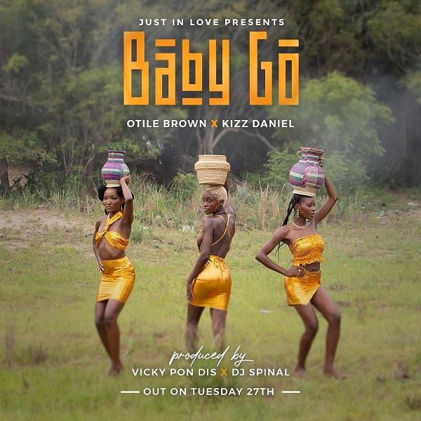 Otile Brown ft Kizz Daniel – Baby Go Free Mp3 Download