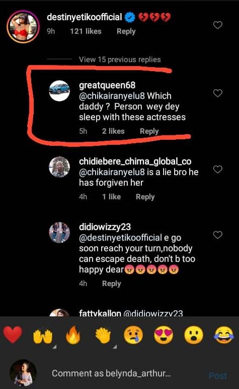 Daddy wey dey sleep with actresses
