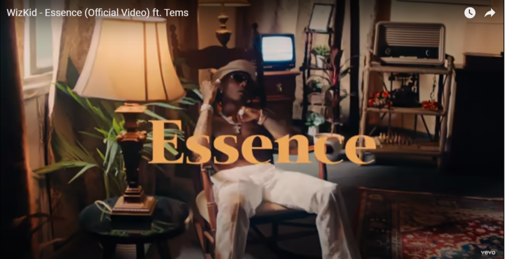 """Video WizKid ft Tems – """"Essence"""" Free Mp4 Download"""