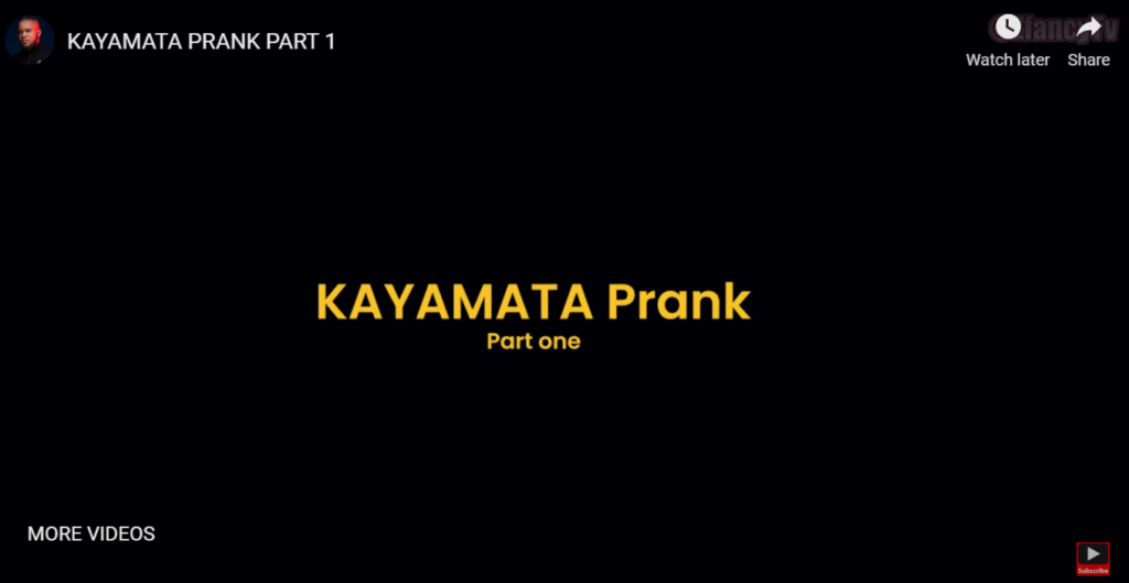 Zfancy – Kayamata Prank Part 1 Video Download