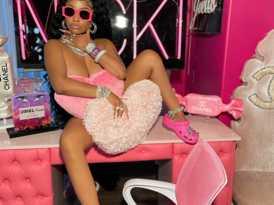 Don't ever leave us again btch, Fans have reacted in several ways to new sexy photos from Trinidadian-born rapper, singer-songwriter, and actress. Nicki Minaj.