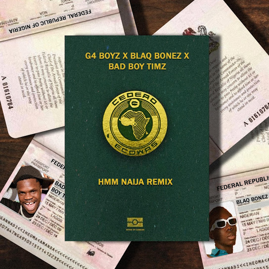 G4 Boyz – Hmm Remix ft. BlaqBonez & Bad Boy Timz