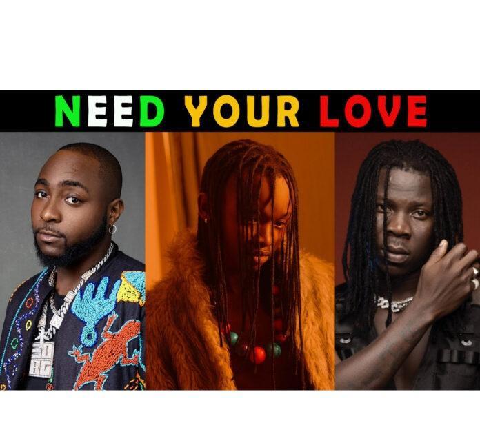 Ayanfe – Need Your Love ft. Davido & Stonebwoy Audio Download
