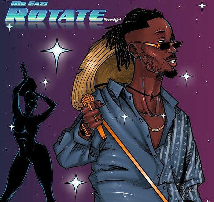 Mr Eazi – Rotate (Freestyle) Free Mp3 Download