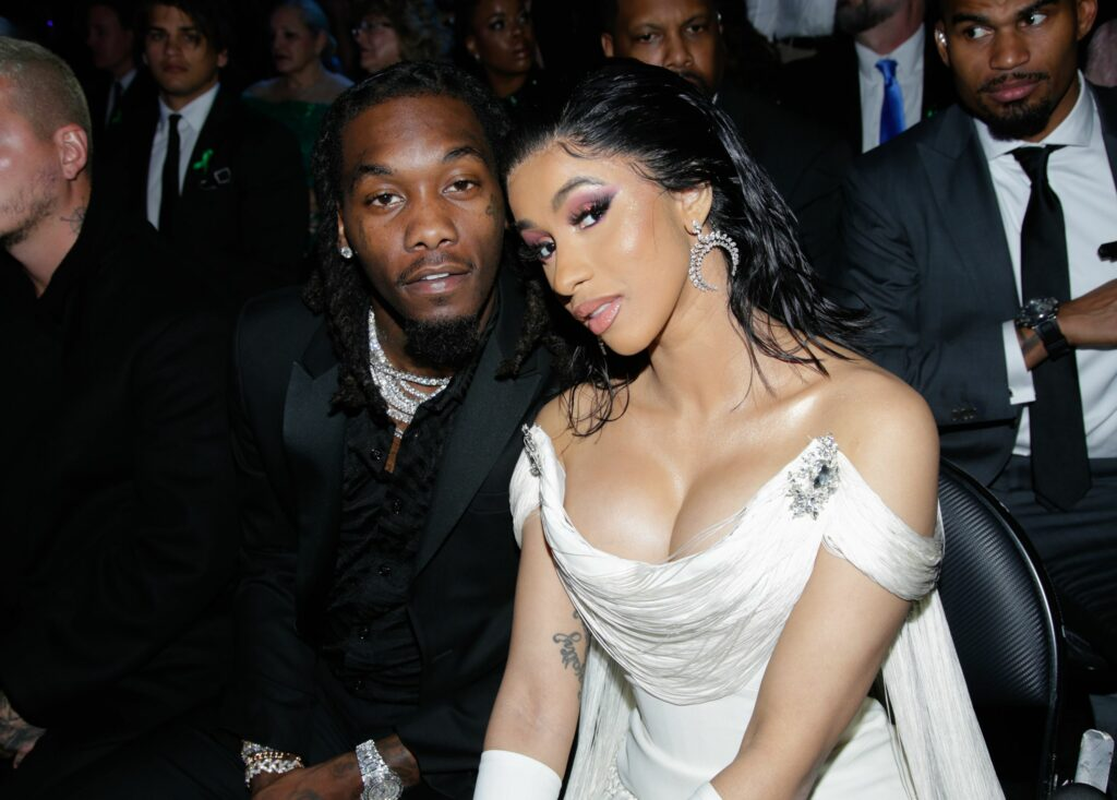 Offset Hails Cardi B For Showing Love To His Other Kids (See Video)