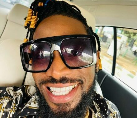 You Look Like A Low Budget Yahoo Boy D'banj's Wife Hit on Him (Video)