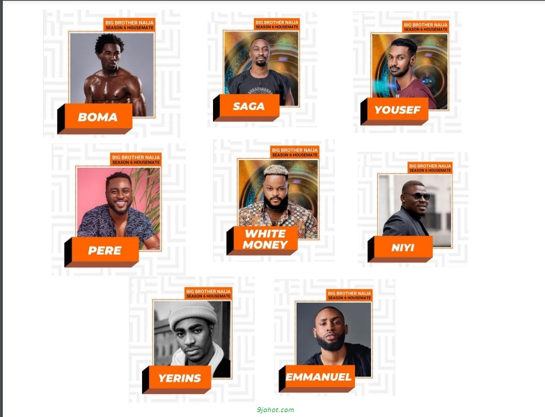 Meet All The #BBNaija Season 6 Male Housemates (Photos)