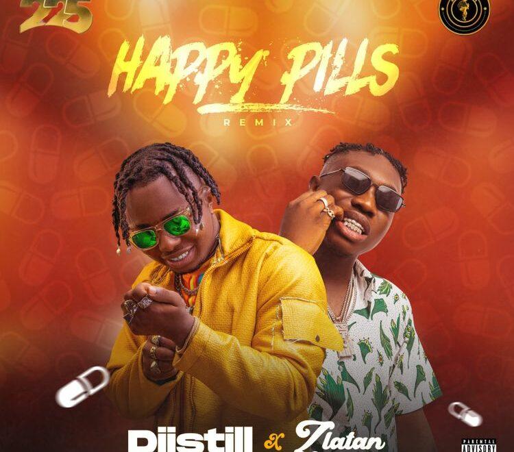 Diistill – Happy Pills [Remix] Ft. Zlatan Free Mp3 Download