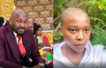 Mourning the Past: Actress Chioma Goes Bald After Confessing to Sleeping With Apostle Suleman