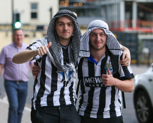 Newcastle Fans To Stop Wearing Saudi Arabia Clothing on Match Days