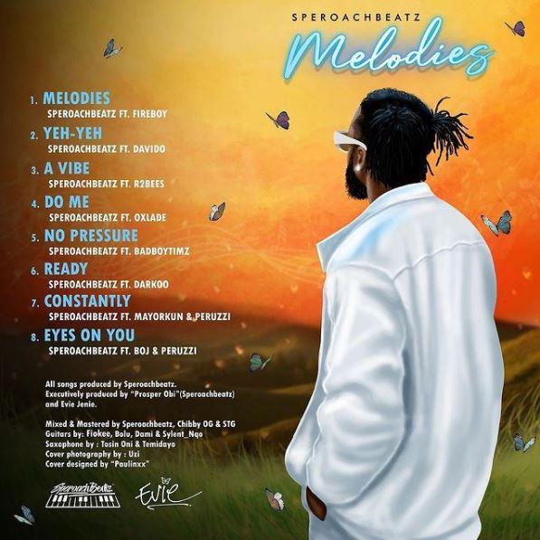Album: Speroachbeatz - Melodies